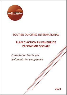 Contribution du CIRIEC à la consultation lancée par la Commission Européenne intitulée «Feuille de route sur le plan d'action en faveur de l'économie sociale»