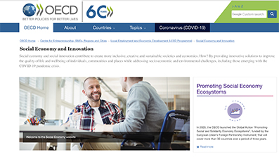 OECD Global Action on Promoting Social and Solidarity Economy Ecosystems