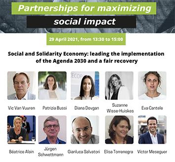 Evénement EUSES – CIRIEC & Partenariats pour maximiser l'impact social – 29.04.21