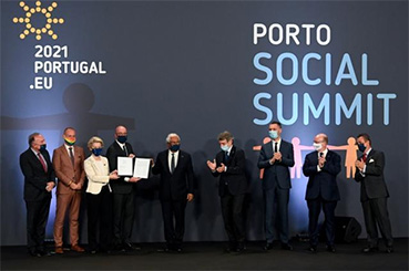 Porto Social Summit & Conference on the Future of Europe in Strasbourg