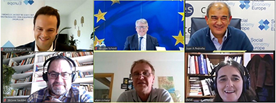 Social Economy Europe rencontre le Commissaire Nicolas Schmit pour présenter ses propositions pour co-construire le Plan d'Action en faveur de l'Economie Sociale