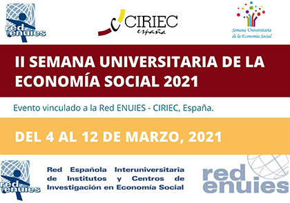 Espagne – 2ème Semaine universitaire de l'économie sociale, 4-12 mars: 127 activités, dans 26 universités