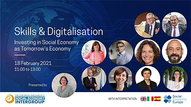 Report of the Social Economy Intergroup Public Hearing on Skills and Digitalisation