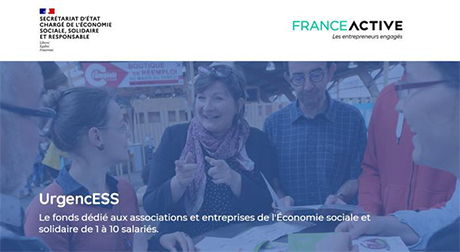 France: Urgenc'ESS, a fund to help associations and small structures in SSE